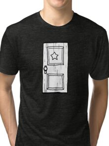 Scott Pilgrim vs The World // Subspace Door Tri-blend T-Shirt