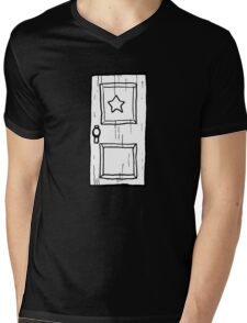 Scott Pilgrim vs The World // Subspace Door Mens V-Neck T-Shirt