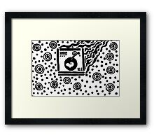 Playing Love Songs Framed Print