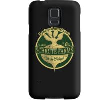 I enjoyed my stay at Schrute Farms (Green) Samsung Galaxy Case/Skin