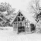 Lychgate St Nicholas Pluckley In The Snow by Dave Godden