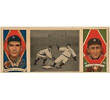 Benjamin K Edwards Collection George Moriarty Ty Cobb Detroit Tigers baseball card portrait Photographic Print