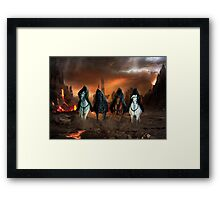 Four Horsemen Of The Apocalypse Framed Print
