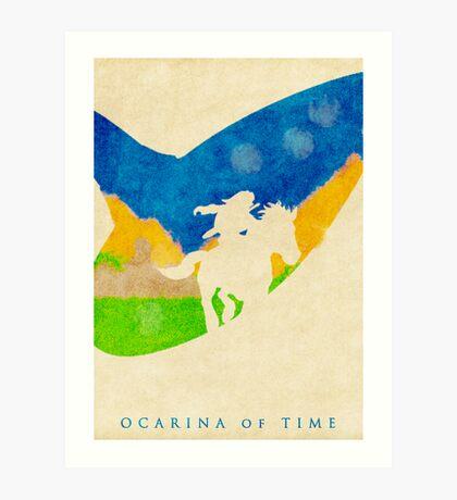 Ocarina Art Print