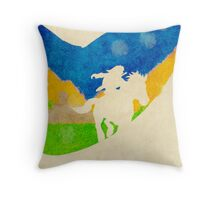 Ocarina Throw Pillow