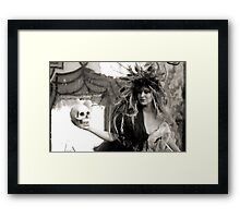 She Knew Him Well Framed Print