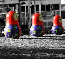 Russian Dolls by sarahbstorey