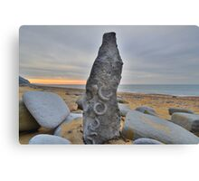 Dorset: Fossil Art Canvas Print