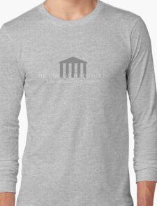 The Sarcasm Foundation - White Long Sleeve T-Shirt