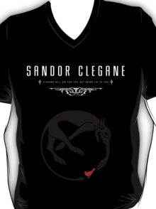 Sandor Clegane Personal Sigil Tee T-Shirt