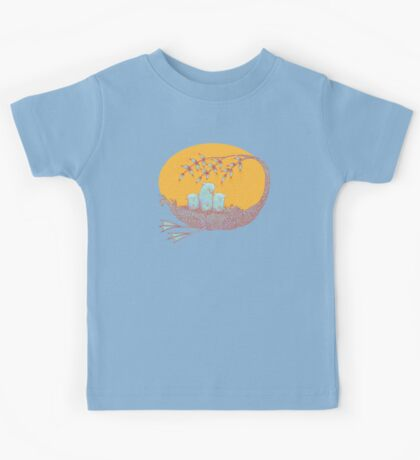 Sweet Dreams of the Owl Pups on their Night Journey Kids Clothes