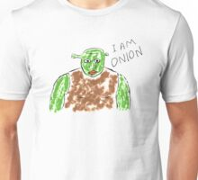 shrek is like onion. Unisex T-Shirt