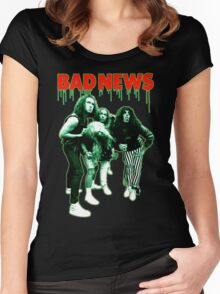 BAD NEWS Comic Strip Presents Women's Fitted Scoop T-Shirt