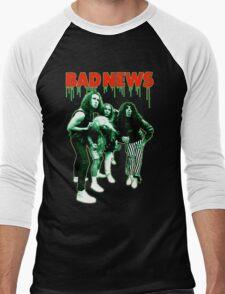 BAD NEWS Comic Strip Presents Men's Baseball ¾ T-Shirt