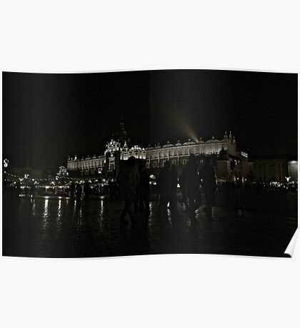Kraków by night . BROWN SUGAR. Views (39) . Peace , Love , Light & Inspiration ! Welcome ! Poster