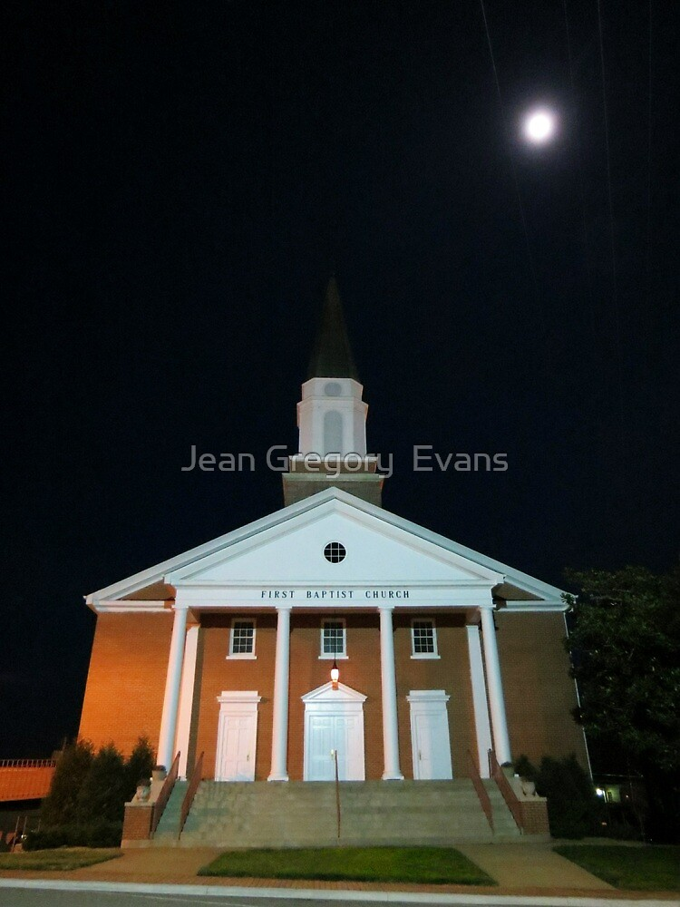 First Baptist Church of Franklin by Jean Gregory  Evans