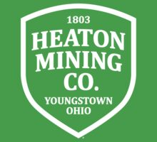 Heaton Mining Co. (alt. version white) - Inspired by Bruce Springsteen's 'Youngstown' by Mark Lenthall
