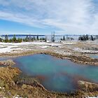 West Thumb Calderas at Yellowstone by North22Gallery