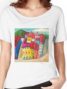 Barcelona, Spain Women's Relaxed Fit T-Shirt