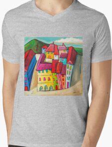 Barcelona, Spain Mens V-Neck T-Shirt