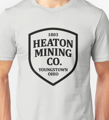 Heaton Mining Co. (alt. version) - Inspired by Bruce Springsteen's 'Youngstown' Unisex T-Shirt
