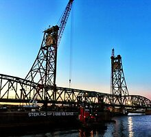 Last days of the Memorial Bridge by Rebecca Lee Photography