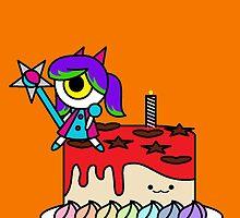 Wacky Cake by RoseCraft