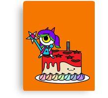 Wacky Cake Canvas Print