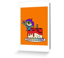 Wacky Cake Greeting Card