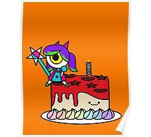 Wacky Cake Poster