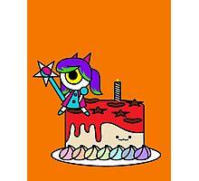 Wacky Cake Photographic Print