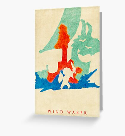 Waker Greeting Card