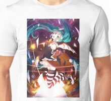 Hatsume Miku During Halloween Unisex T-Shirt