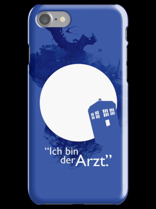 """""""Ich Bin Der Artz"""" Doctor Who iPhone Case by derekland"""