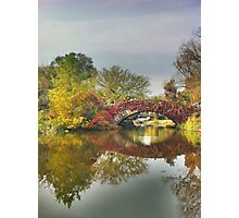 Fall Reflection Photographic Print