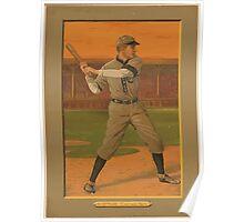 Benjamin K Edwards Collection Solly Hofman Chicago Cubs baseball card portrait Poster