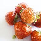 Strawberries by Judi Rustage