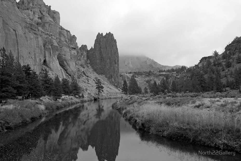 Crooked River at Smith Rock State Park by North22Gallery