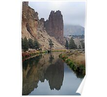 Crooked River at Smith Rock State Park Poster