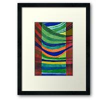 Landscape Hammock Framed Print