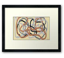 Twyned Framed Print