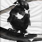 Sumi Bird by Trevett  Allen
