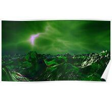 Green Storm Rising Poster