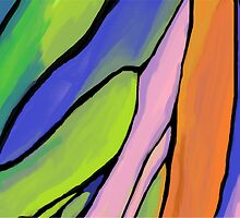 Abstract Fingers of Dawn by Jana Gilmore