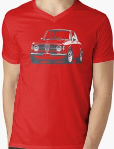 Alfa Romeo GT Mens V-Neck T-Shirt