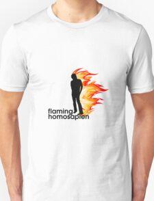 Flaming Homosapien T-Shirt