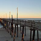 Rodanthe Pier at Sunset by Robin Lee