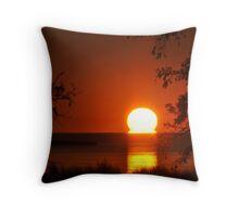 Salvo Sunset Throw Pillow