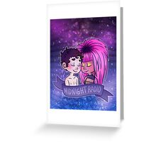 Like the brightest stars. Greeting Card