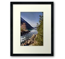 A Sunny Winter Day Framed Print